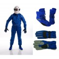 2013 CIK Level 2 Kart Suit Package Blue ADULT