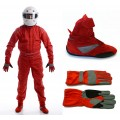 2013 CIK Level 2 Kart Suit Package Red ADULT