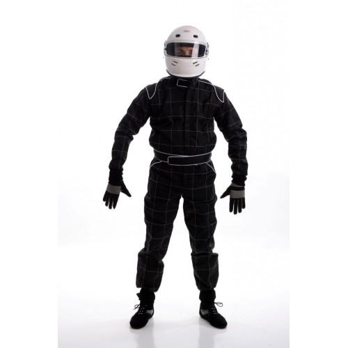 CIK 2013 Level 2 Adult KART Suit BLACK