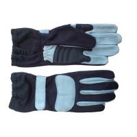 NOMEX Fireproof Motorsport Gloves - Black/Grey