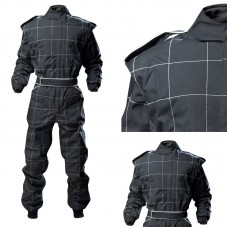 PROBAN Race Suit - Junior - Black with White Stitching