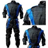 CIK Level 2 KART Suit BLACK/BLUE/GREY