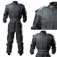 Indoor / Outdoor Kart Suit - JUNIOR BLACK