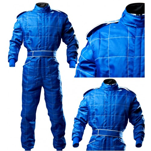 Outdoor Kart Suit - ADULT BLUE