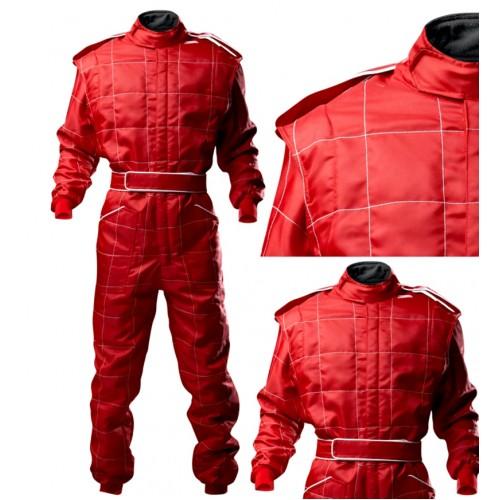 Outdoor Kart Suit - ADULT RED