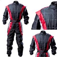 CIK Level 2 KART Suit BLACK/RED/GREY
