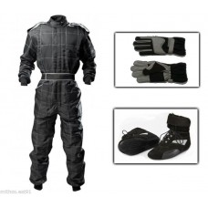 Outdoor Kart Suit Package Black Adult