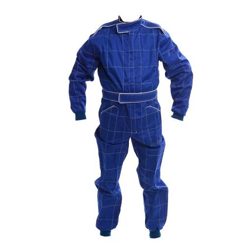 CIK 2013 Level 2 Bambino / Cadet / Junior KART Suit BLUE