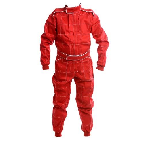 CIK 2013 Level 2 Bambino / Cadet / Junior KART Suit RED