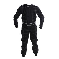 CIK 2013 Level 2 Bambino / Cadet / Junior KART Suit BLACK