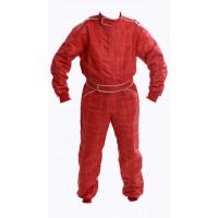 Indoor Kart Suit - ADULT RED