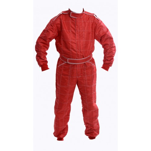 Indoor Kart Suit - JUNIOR RED